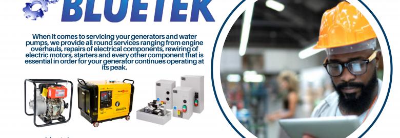 Bluetek Generators And Water Pumps
